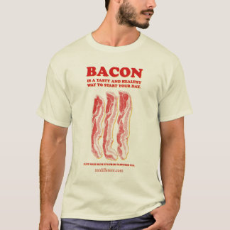 Eat Different: Eat Bacon T-Shirt