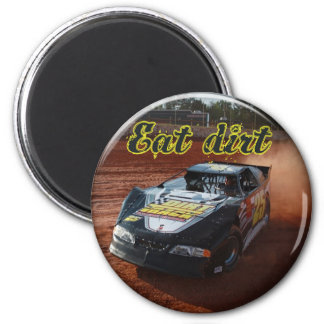 eat dirt racing magnet