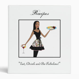 Eat, Drink and Be Fabulous! Binder