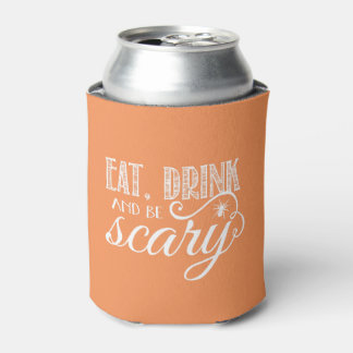 Eat, Drink and Be Scary Halloween Party Favor Can Cooler