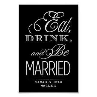 Eat, Drink, Be Married Poster