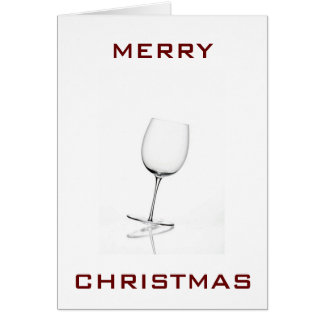 EAT DRINK BE MERRY-CHRISTMAS CARD