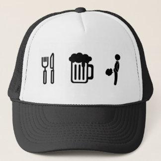 'Eat, Drink, Fart' Trucker Hat