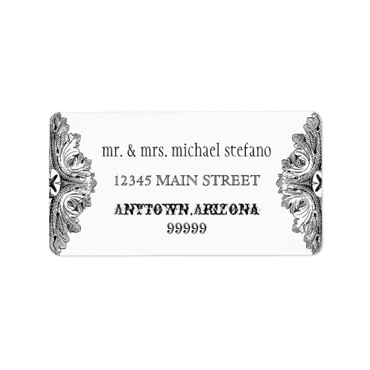 Eat, Drink n Get Married Matching Address Labels