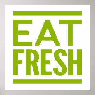 Eat Fresh Poster