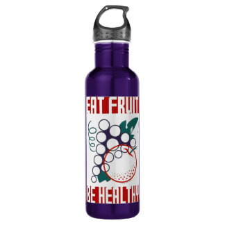 Eat Fruit WPA bottle