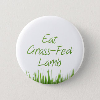 Eat Grass-Fed Lamb 2 Inch Round Button