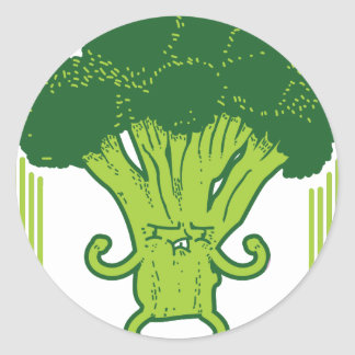 Eat Green Get Lean Round Sticker