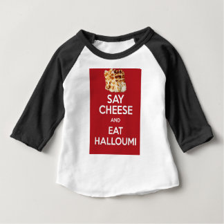 EAT HALLOUMI GREEK CHEESE BABY T-Shirt