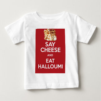EAT HALLOUMI GREEK CHEESE BABY T-Shirt