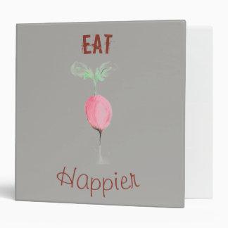 Eat Happier Recipe Binder
