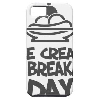 Eat Ice Cream For Breakfast Day - 18th February iPhone 5 Cover