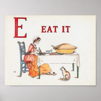 EAT IT POSTER