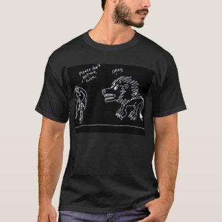 Eat, Lion. T-Shirt