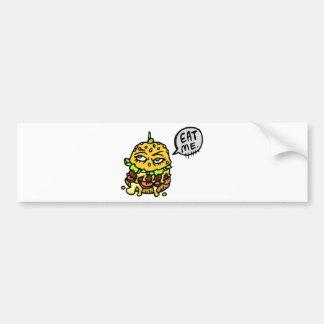 Eat me bumper sticker