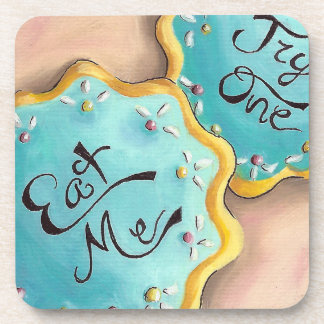 Eat Me Coaster Alice in Wonderland Coaster