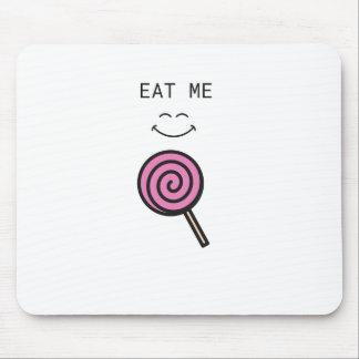 Eat me Lolipop Mouse Pad