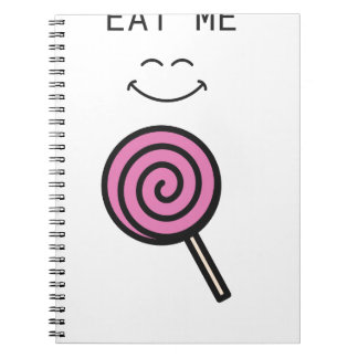 Eat me Lolipop Notebook