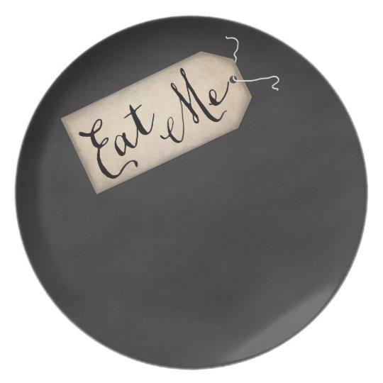 Eat Me Melamine Plate