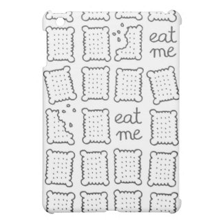 eat me monochrome cookies iPad mini covers