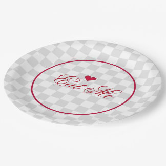Eat Me Paper Plate