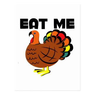 Eat me postcard