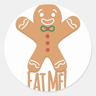 Eat Me Round Sticker