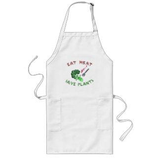 EAT MEAT APRON (Broccoli murder)