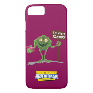 """Eat More Candy"" Bacteria Boy® iPhone 7 Case"