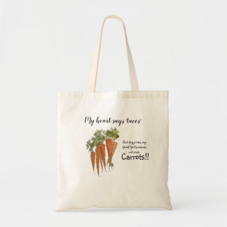Eat More Carrots Tote