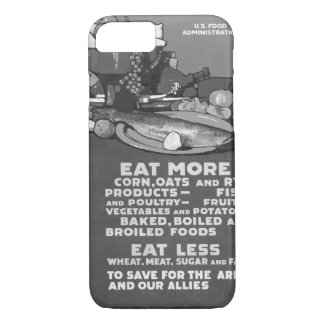 Eat more corn, oats and rye products_War image iPhone 7 Case