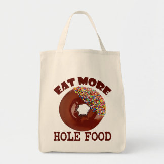 Eat More Hole Food Tote Bag