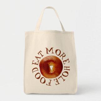 Eat More Hole Food Tote Bag