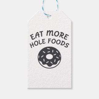 Eat More Hole Foods Gift Tags