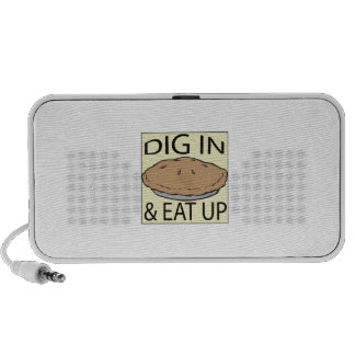 Eat Pie Travelling Speakers