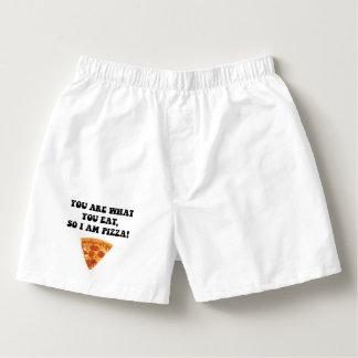 Eat Pizza Boxers