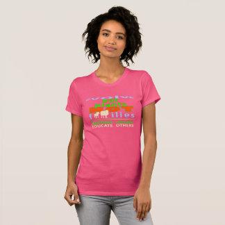 EAT PLANTS, NOT FAMILIES. GO VEGAN. T-Shirt