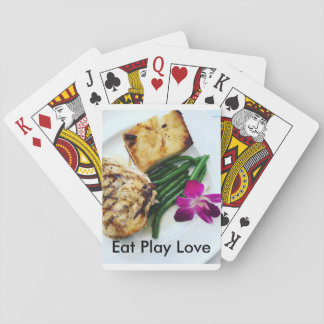 Eat Play Love deck of 52 playing cards
