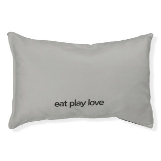 Eat Play Love Dog Bed