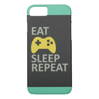 Eat Play Sleep repeat-Colorful iphone case