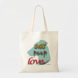 Eat, Poop, Love Tote Bag
