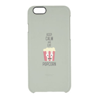 Eat Popcorn Z6pky Clear iPhone 6/6S Case