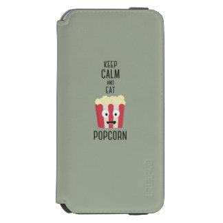 Eat Popcorn Z6pky Incipio Watson™ iPhone 6 Wallet Case