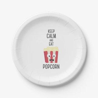 Eat Popcorn Z6pky Paper Plate