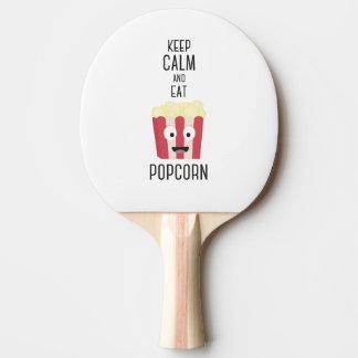 Eat Popcorn Z6pky Ping Pong Paddle