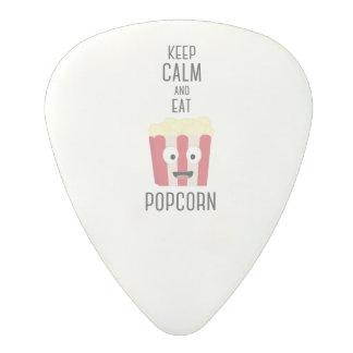 Eat Popcorn Z6pky Polycarbonate Guitar Pick