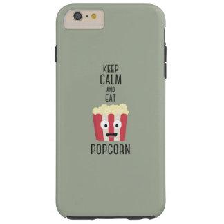 Eat Popcorn Z6pky Tough iPhone 6 Plus Case