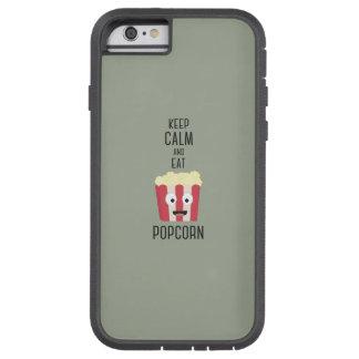 Eat Popcorn Z6pky Tough Xtreme iPhone 6 Case