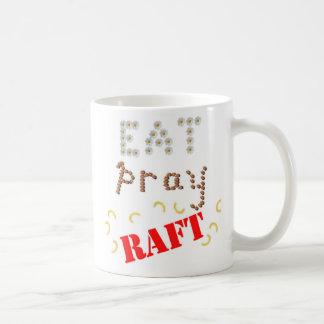 eat pray raft_larger coffee mug