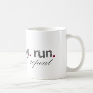 eat. pray. run. Mug